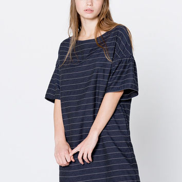 Oversized striped dress - Clothing - New - Woman - PULL&BEAR United Kingdom
