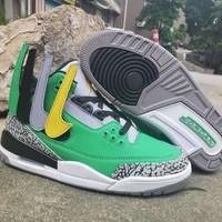 Oregon Ducks Air Jordan 3 Tinker PE - Best Deal Online