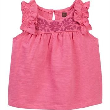 Tea Collection | Myrtle Embroidered Top (Baby & Toddler Girls) | Nordstrom Rack