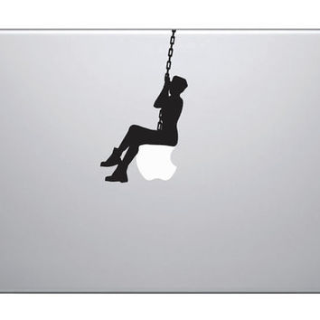 Miley Cyrus Wrecking Ball Mac Decal