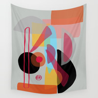 Modern minimal forms 22 Wall Tapestry by naturalcolors