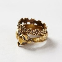 Sly & Sweet Ring Duo by Alkemie Gold