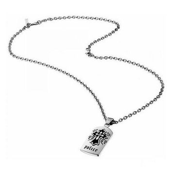 Men's Necklace Police S14OI01P