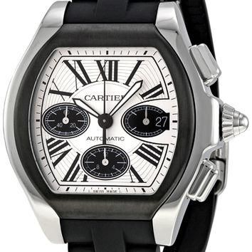 Cartier Roadster Mens Chronograph Automatic Watch W6206020