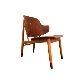 Pre-owned lb Kofod Larsen Danish Teak Lounge Chair