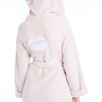 Lips Plush Robe - Wildfox