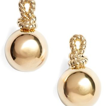 kate spade new york sailors knot drop stud earrings | Nordstrom