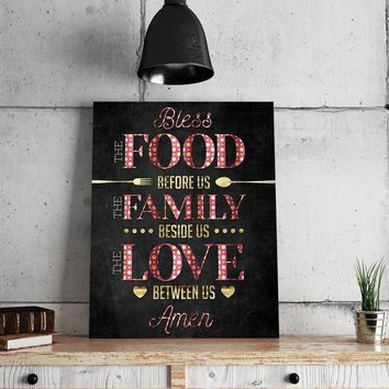 Bless This Kitchen 11 x 14 Canvas Set (Free Shipping)