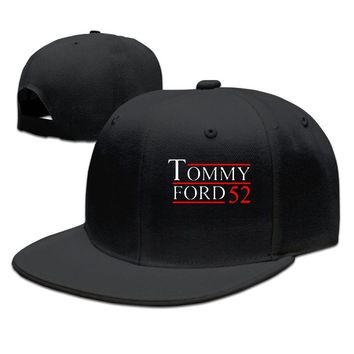 Martin Tommy Ford Logo Printed Unisex Adult Womens Fitted Hats Mens Snapback Caps