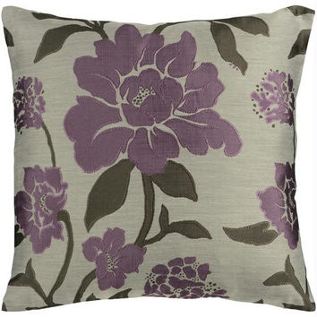 Floral Throw Pillow - Candice Olson Design