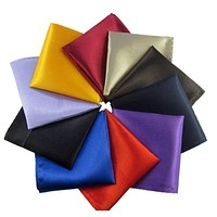 Men's Flashy Collection Pocket Squares - 20 Colors