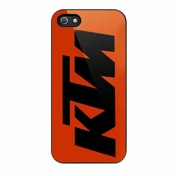 ktm orange iphone 5 5s 4 4s 5c 6 6s plus cases