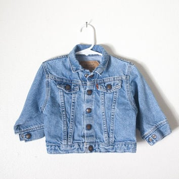 Vintage Baby Levi's Jean Jacket | 18 Mo 80s Jean Jacket 80s Denim Jacket Levi Jeans Levi Jacket Baby Fashion Kids Toddler Hipster USA Made