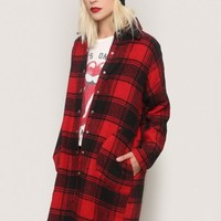 Fairfax Plaid Coat