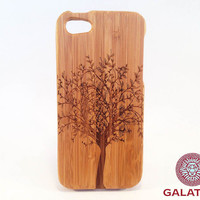 Eco Friendly Bamboo Case for iPhone 5 / 5S -Tree of Life-
