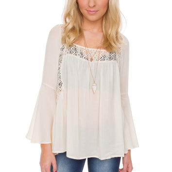 Wilma Lace Top