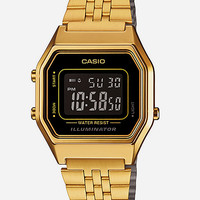 Casio Vintage Collection La680 Watch Black/Gold One Size For Men 27173777401