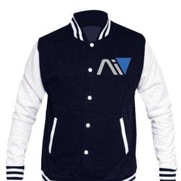 Mass Effect Andromeda Personalised Logo Varsity Jacket