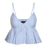 Irregular Pleated Cami Top by Alexander Wang - Moda Operandi