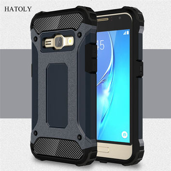 For 2016 Samsung Galaxy J1 Phone Case J120 J120F Silicone Cover For Samsung J1 2016 Case Shockproof Slim Tough Rubber Armor (<