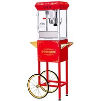 Popcorn Machine 8 oz GNP-800 All-Star Popcorn Machine with Cart