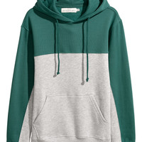 H&M Color-block Hooded Sweatshirt $34.99