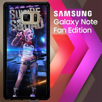 Suicide Squad  Harley Quinn W4447 Samsung Galaxy Note FE Fan Edition Case