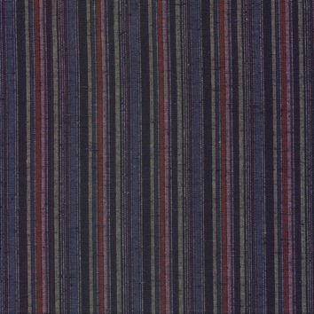 Multi-colored Indigo Yarn Dyed Stripe Japanese Cotton Fabric WSY-2013-C