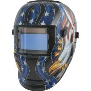 TITAN Solar Powered Auto Darkening Welding Helmet TIT41265