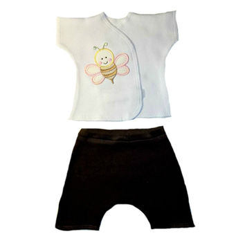 Baby Girls' Sweet Bumblebee Shorts Set