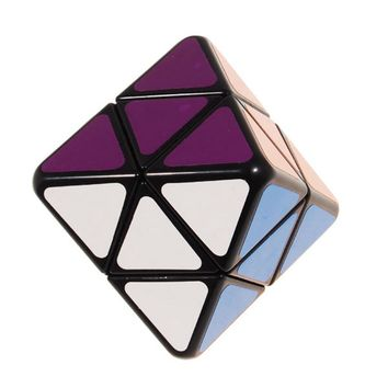 Brand New IQ Test Octahedron Magic Cube Speed Puzzle Cubes Educational Toys For Kids Children