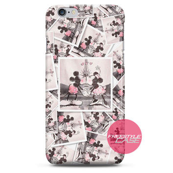 Micky Mouse and Minnie Effiel Paris iPhone Case 3, 4, 5, 6 Cover