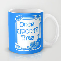 Once Upon A Time in Blue Mug by Artist Abigail