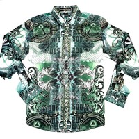 Public Denim Men's Illuminati Button Up Shirt
