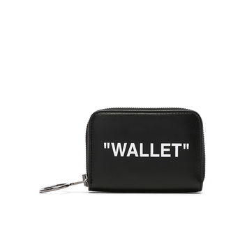OFF-WHITE Medium Wallet in Black & White | FWRD