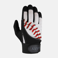 Baseball Lace Batting Gloves