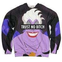 Trust No B*tch Little Mermaid Sweater