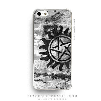 Supernatural Anti-Possession Graffiti iPhone 5 5s 5c 4 4s Case Samsung Galaxy S5 S4 S3 Note 3