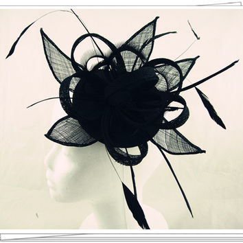 Free shipping 9color avaliable sinamay fascinator hats ,good bridal wedding hats,cocktail hat,Very nice,MSF177