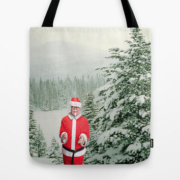 Merry Christmas, Colonel Sanders Tote Bag by Casey J. Newman
