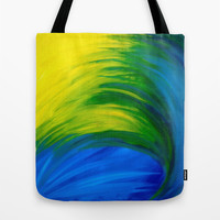 Feathers Tote Bag by Sierra Christy Art
