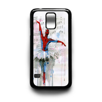 Spiderman Ballet Samsung S5 S4 S3 Case By xavanza