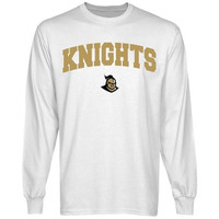 UCF Knights White Logo Arch Long Sleeve T-shirt