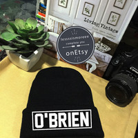 Dylan O'Brien Beanie, Cuffed Beanies Winter Hat Beanie Hat Use Flock Flex Really High Quality