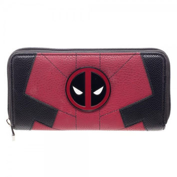 Marvel Deadpool Zip Around Wallet