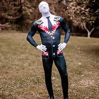 Maryland Flag Tuxedo / Body Suit