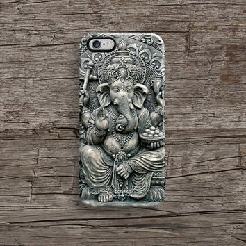 Ganesha iPhone 6 case, iPhone 5s case, iPhone 5C case, iPhone 4s case with ganesha pattern Hong Kong free shipping A188
