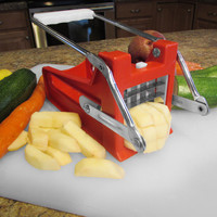 Evelots French Fry Cutter With Stainless Steel Blades For Easy Slicing, Kitchen