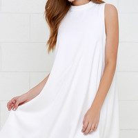 Sway Time Ivory Swing Dress