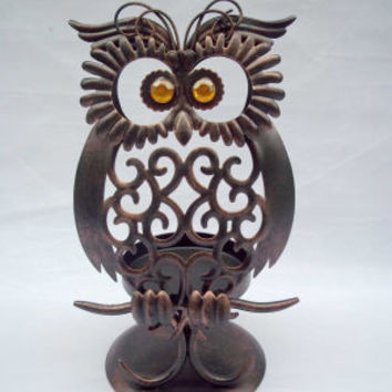 Ashland™ Hollow Owl Candle Holder
